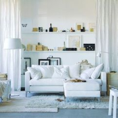 Small Living Room Ideas Blue Portable Heater Home Decorating White Sofas And Shelving Interiors Redonline Co Uk