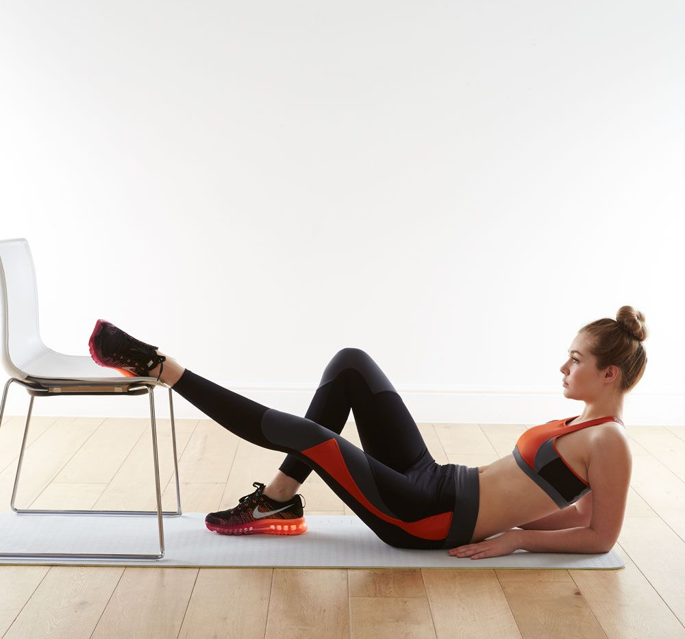 Chair Exercise That Girl Workout Plan Fitness