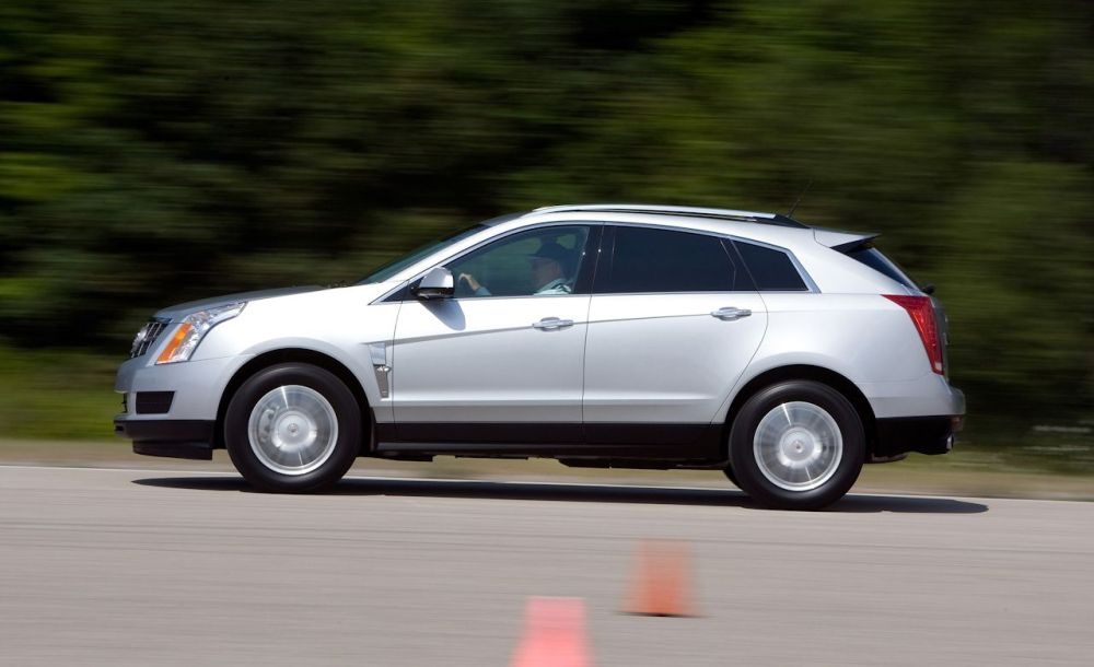 medium resolution of 2010 cadillac srx 2 8t test review car and driver