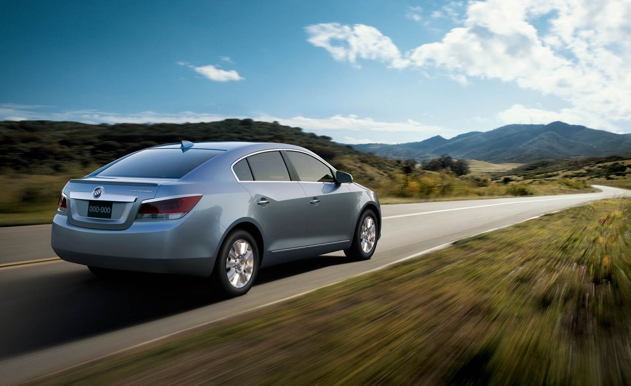 2012 Buick Lacrosse Eassist First Drive Review Car And