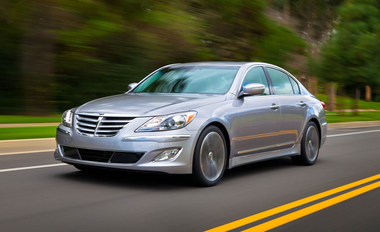 hight resolution of hyundai genesis r spec 5 0 sedan test ndash review ndash car and driver
