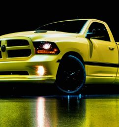 ram 1500 rumble bee concept photos and info 8211 news 8211 car and driver [ 1280 x 782 Pixel ]