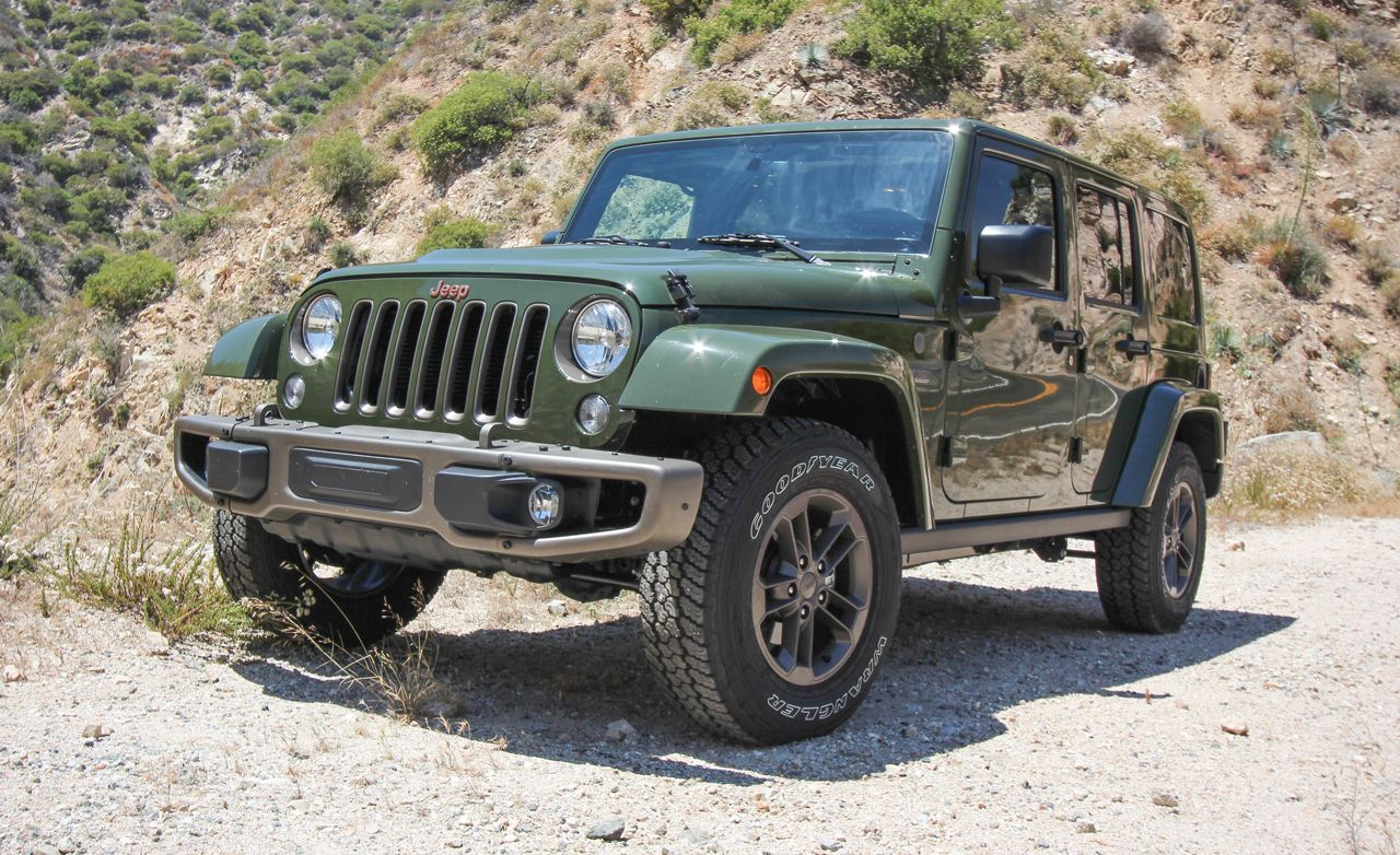 2016 Jeep Wrangler Unlimited Test Review Car And Driver