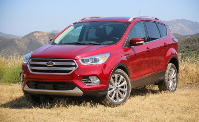 Refreshed 2017 Ford Escape First Drive Review Car And