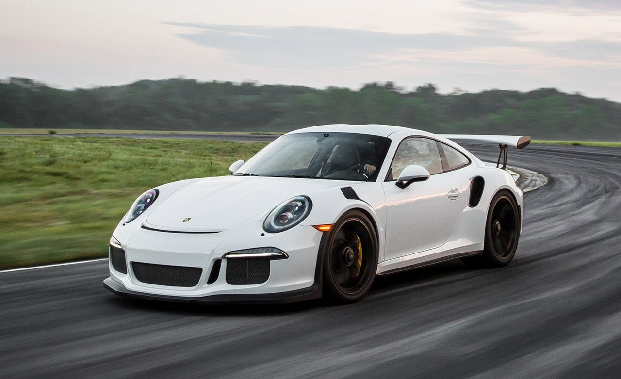 Porsche 911 GT3 RS at Lightning Lap 2016 – Feature – Car and Driver
