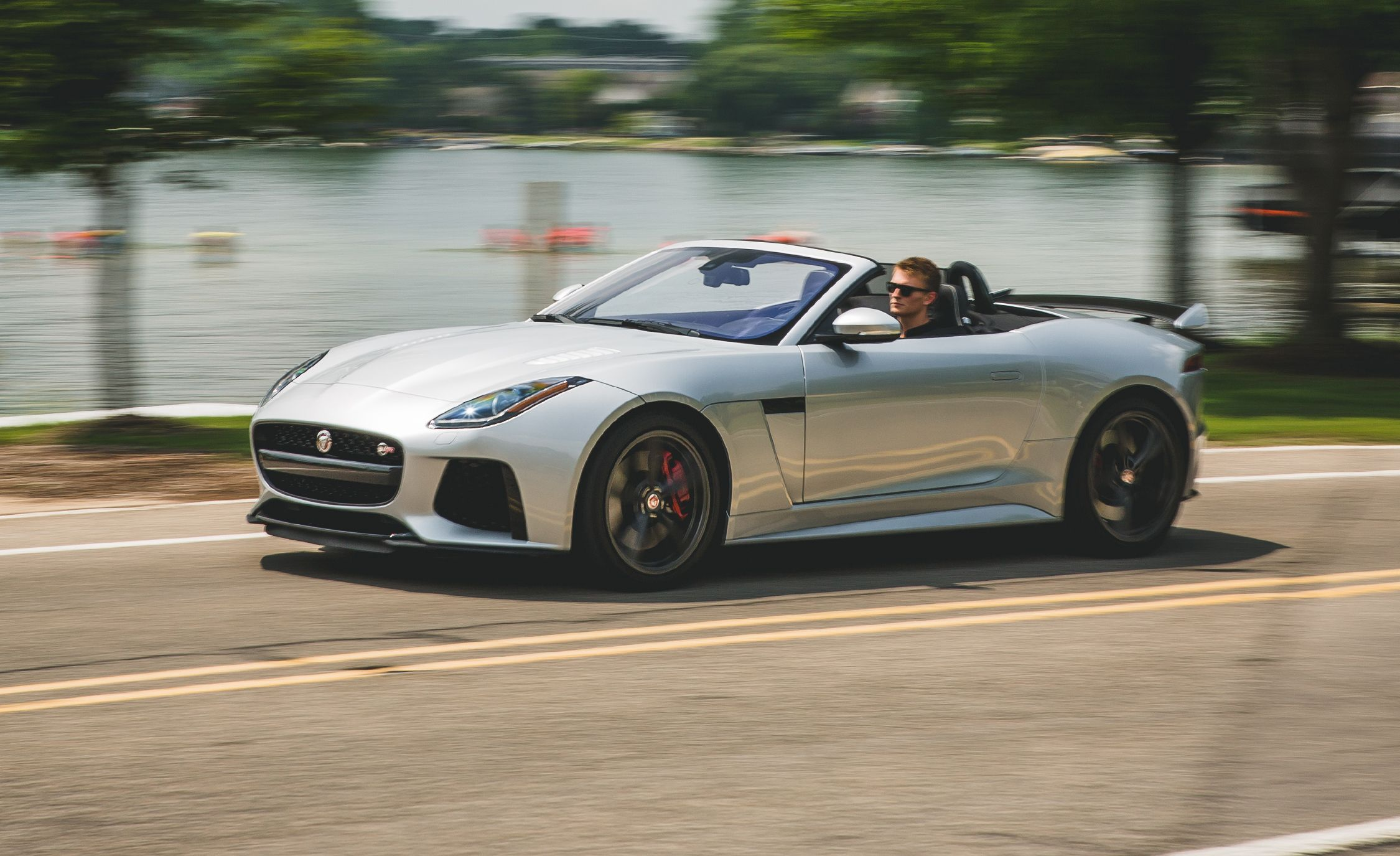2017 Jaguar F Type SVR Convertible Test Review Car And