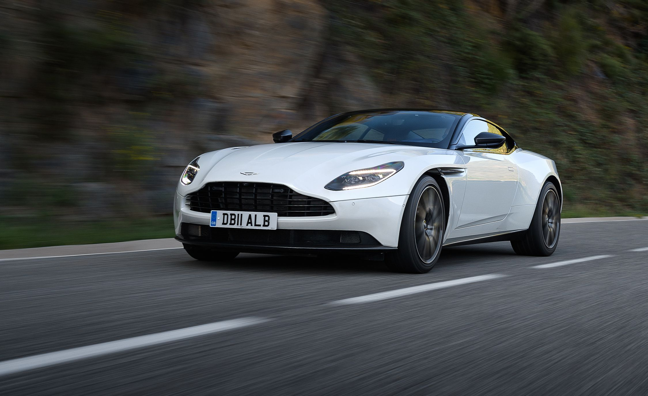 2018 Aston Martin DB11 V 8 First Drive Review Car And