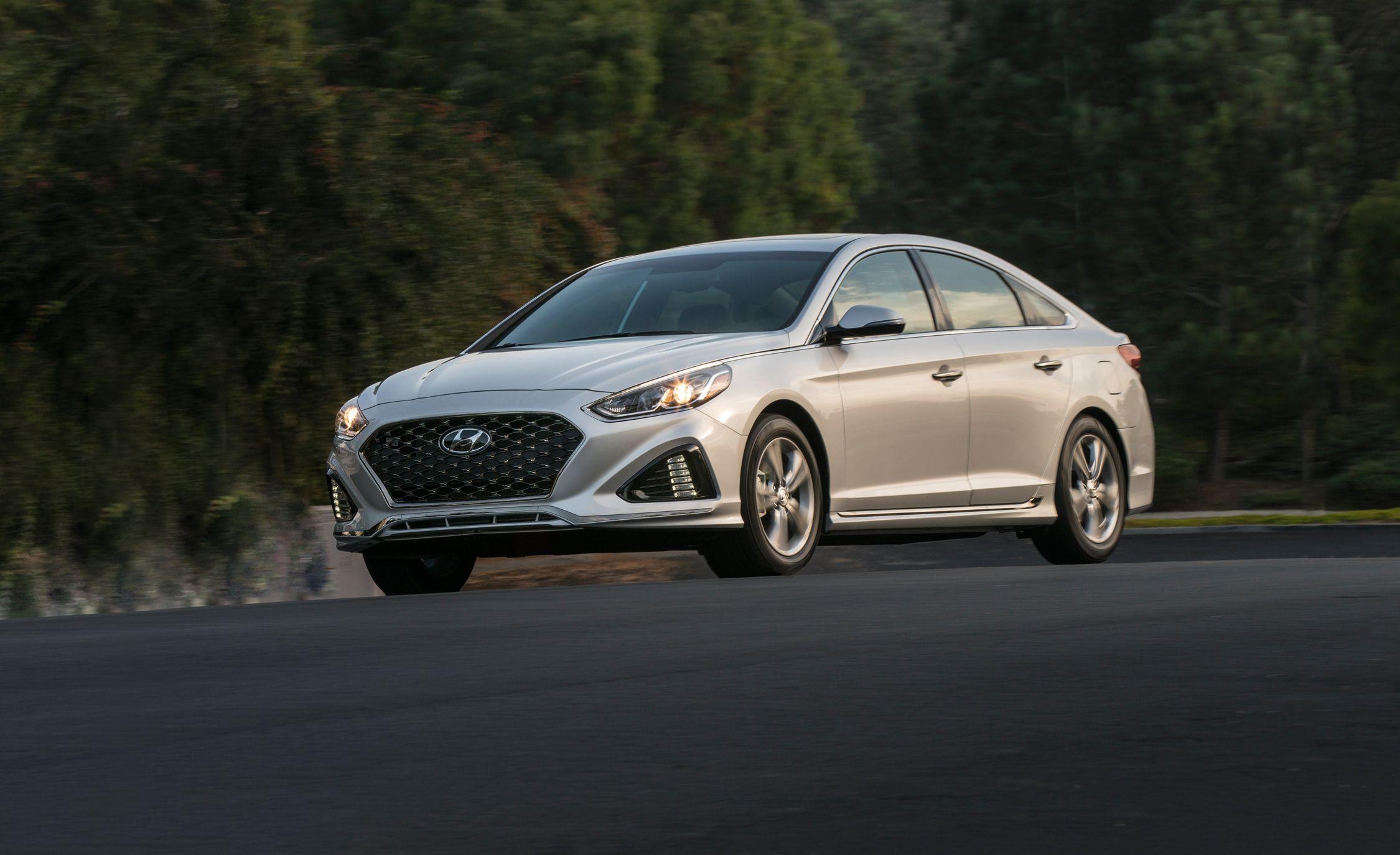 2018 Hyundai Sonata First Drive Review Car And Driver