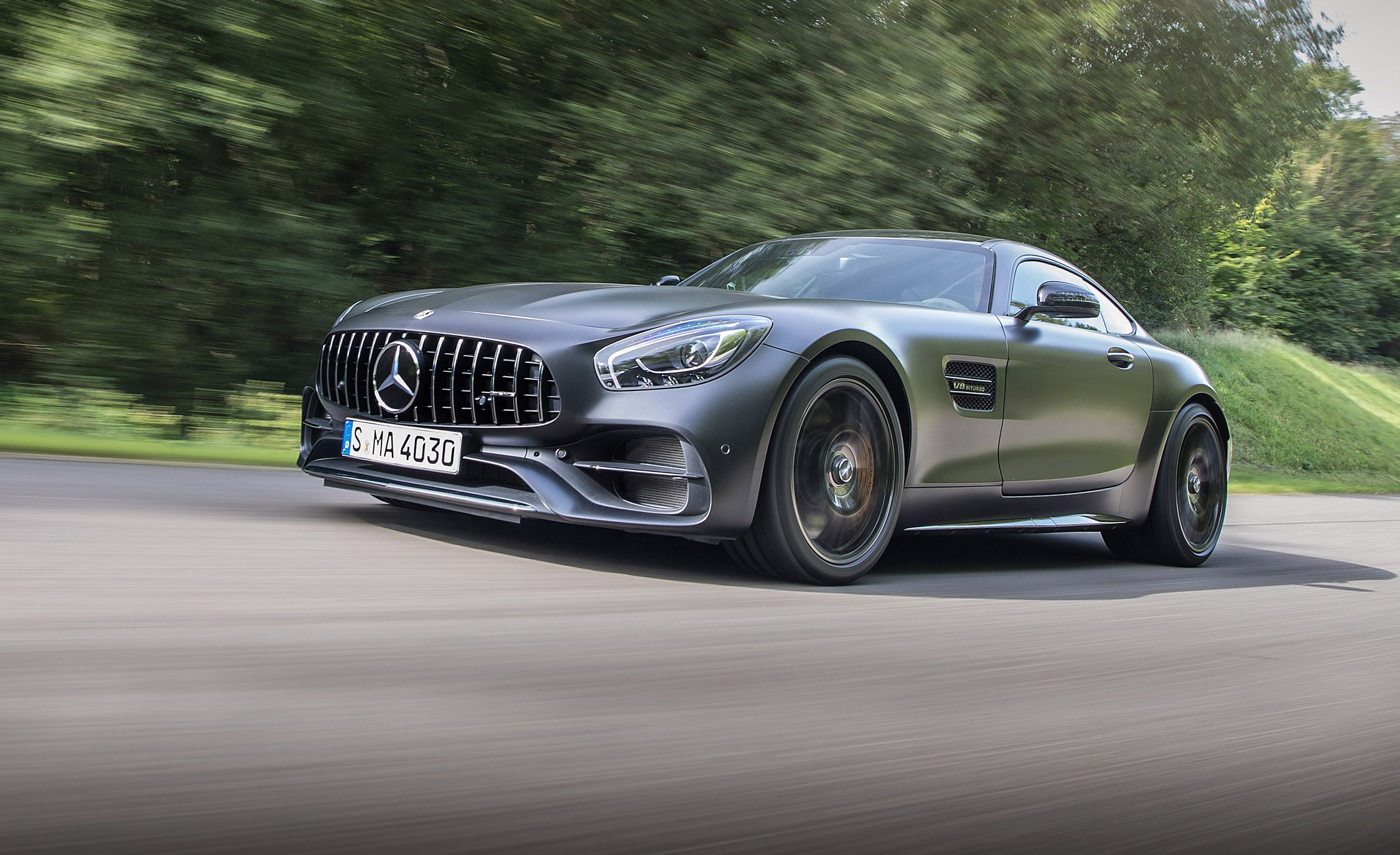 2018 Mercedesamg Gt C Coupe First Drive  Review Car