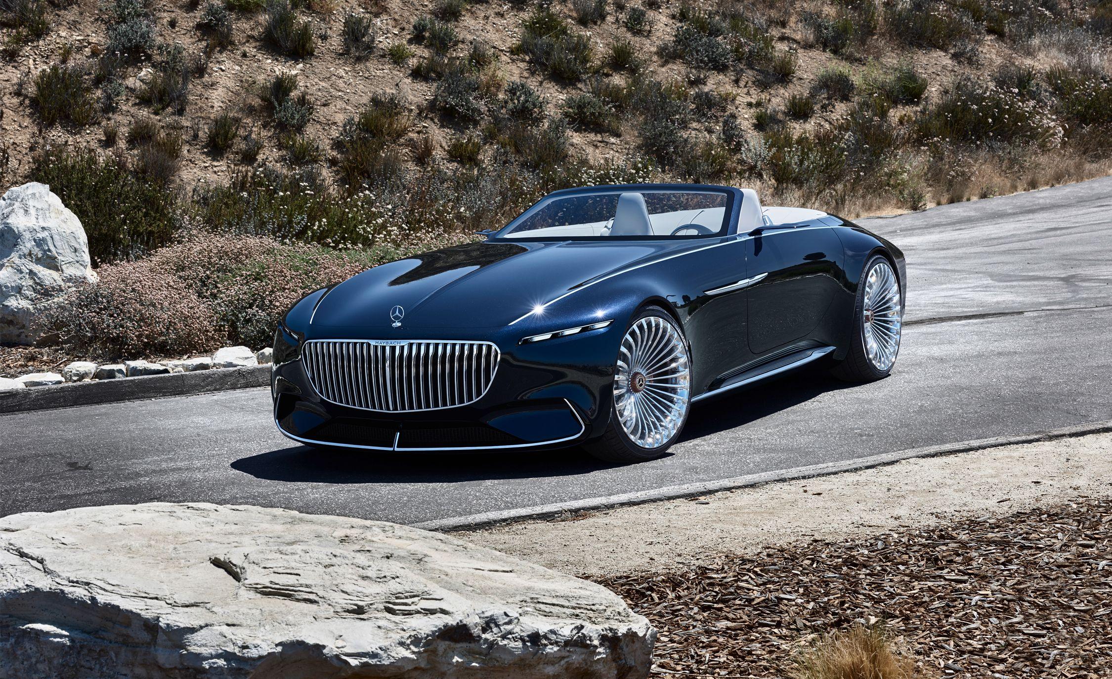 Vision Mercedesmaybach 6 Cabriolet Photos And Info News