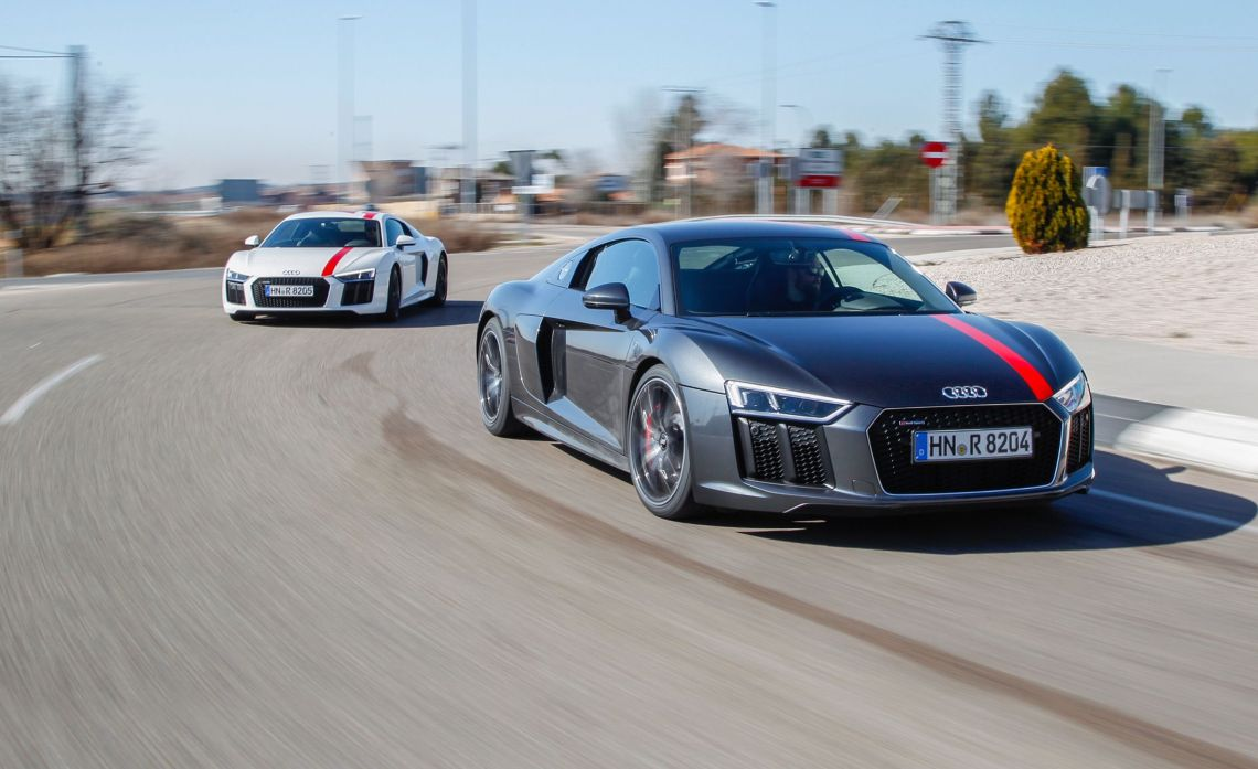 2018 audi r8 rws first drive   review   car and driver