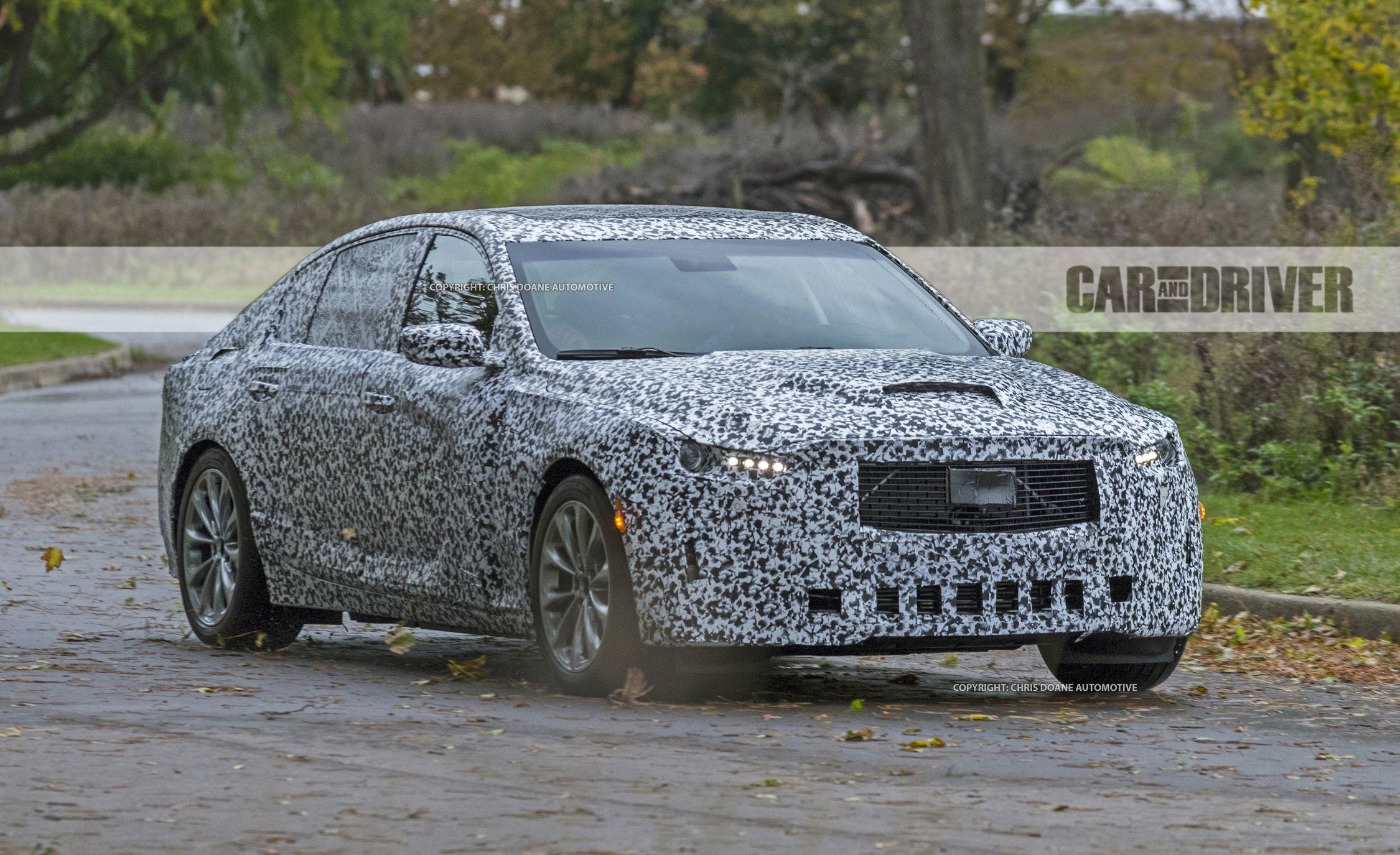 2020 Cadillac CT5 Sports Sedan Spied Will Battle The 3