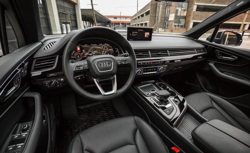 Audi Q7 Interior 2018