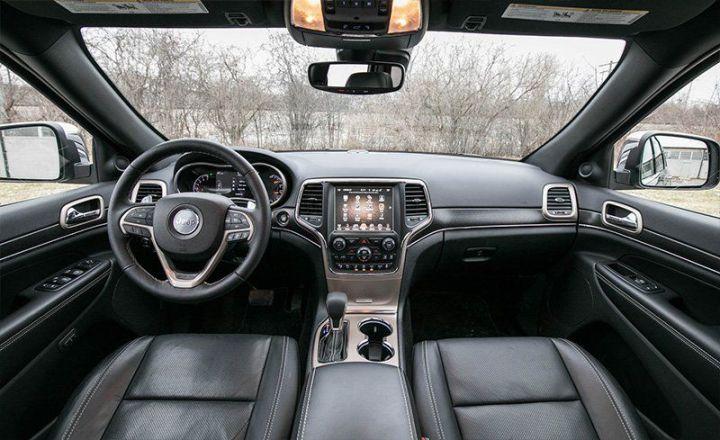 jeep grand cherokee interior. Black Bedroom Furniture Sets. Home Design Ideas