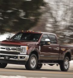 2018 ford f series super duty engine and transmission review car and driver [ 2250 x 1375 Pixel ]
