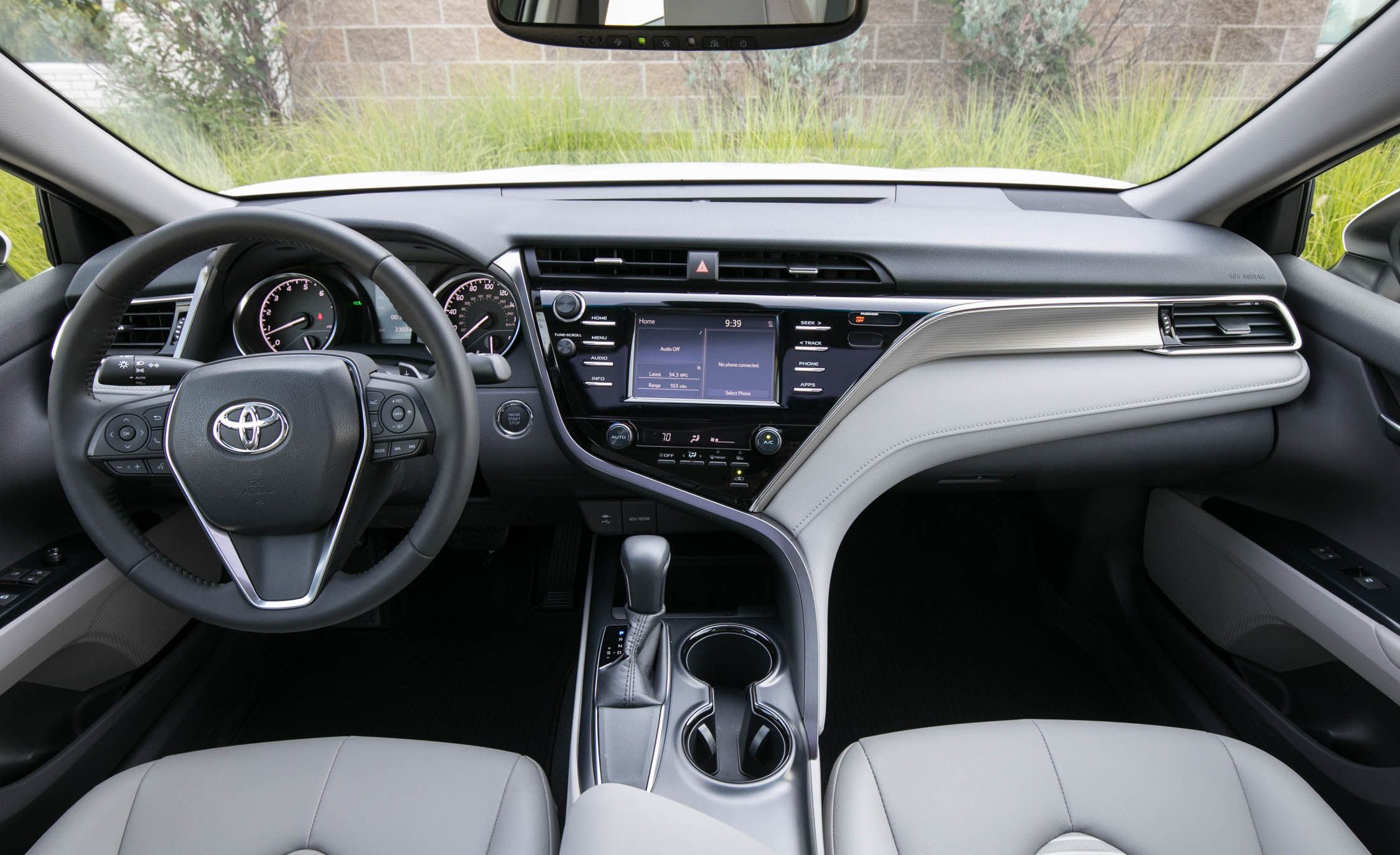 interior all new camry 2016 toyota yaris trd sportivo philippines 2020 reviews price photos and specs up front the driver is greeted with a dashboard that features clearly marked gauges easy to reach controls rich materials