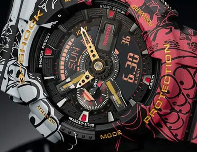 g shock one piece and dragon ball z gear patrol lead feature