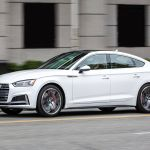 2018 Audi S5 Sportback First Drive Business Up Front Cargo In The Back