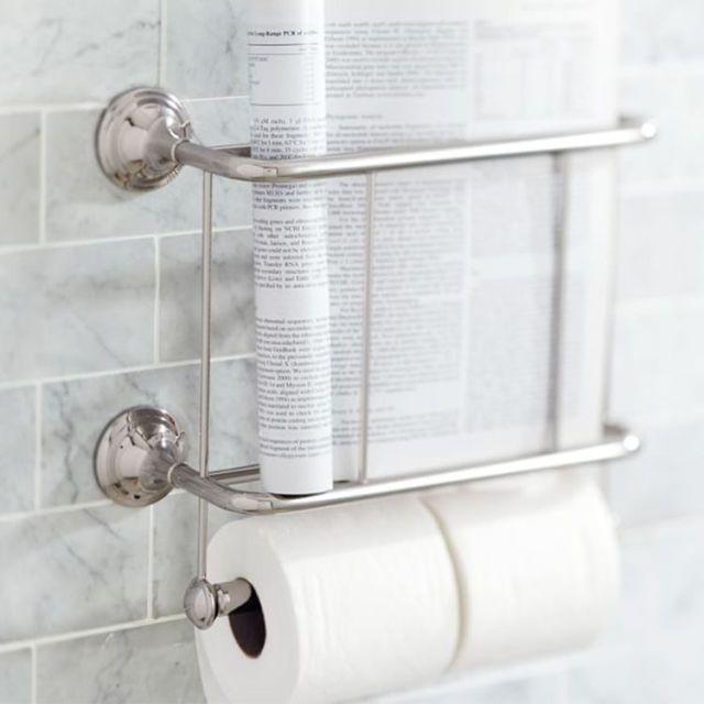 12 best bathroom magazine racks 2018