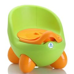 Frog Potty Chair Kids Beach With Adjustable Umbrella 14 Best Chairs For Toddlers In 2018 Training Little Jumbo Green And Orange