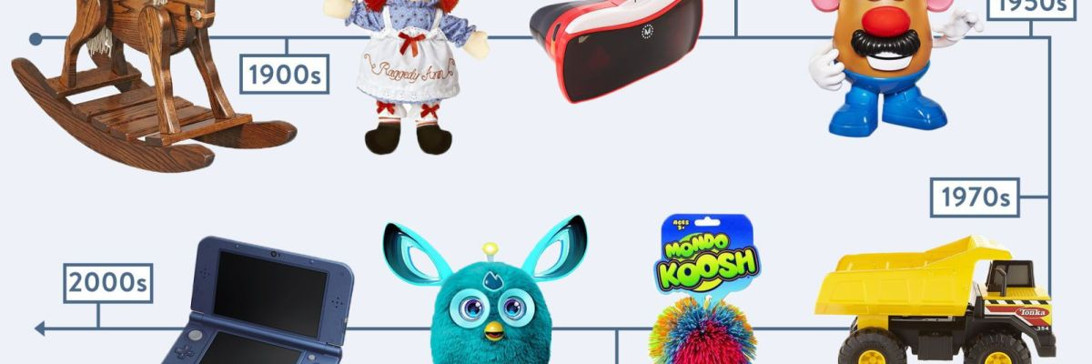 52 Most Popular Gifts Toys For Kids In Every Decade