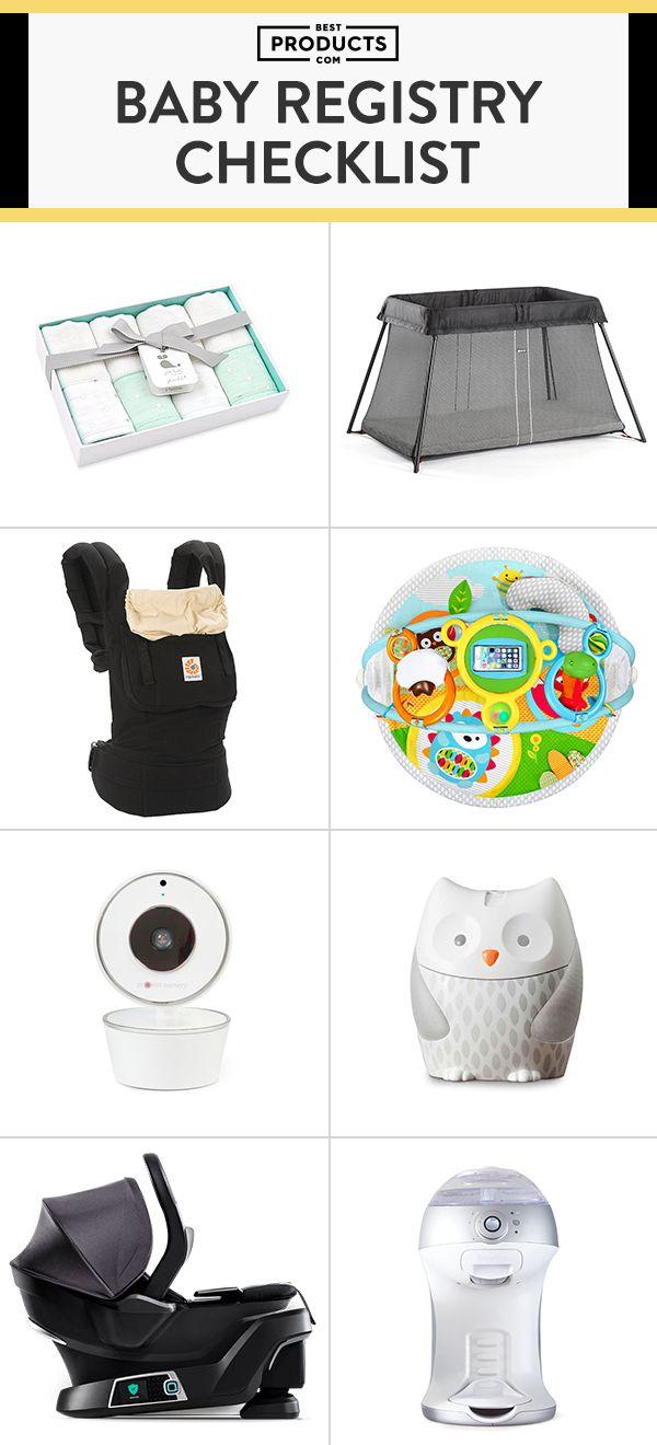 15 Best Baby Registry Ideas for 2018 - Baby Shower Registry ...