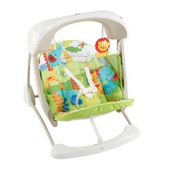 Baby Swing Vibrating Chair Combo Adrian Pearsall 12 Best Swings For 2018 Infant Chairs Rockers And Fisher Price Take Along Seat
