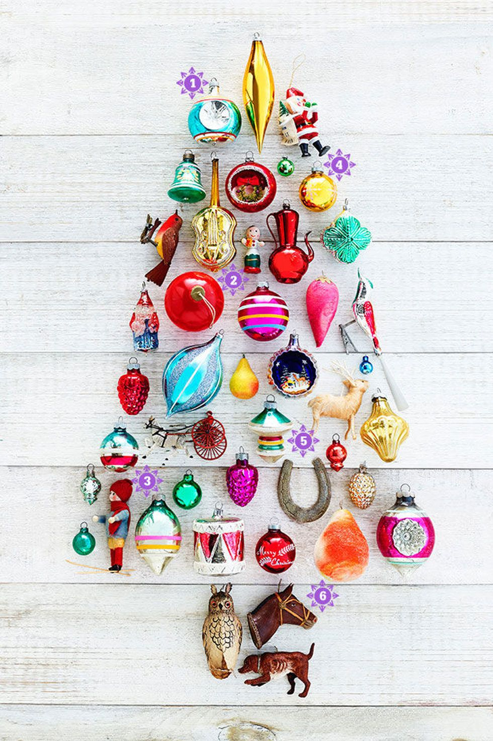 Cracker Box Christmas Ornaments