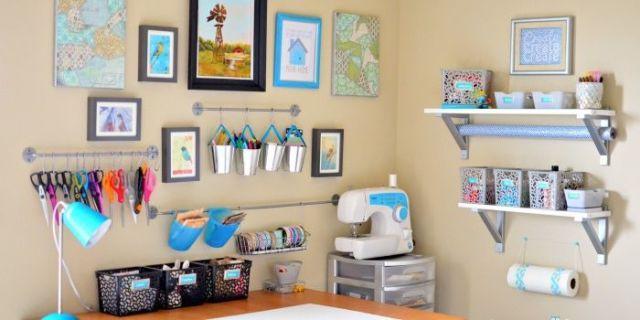 Inspiring Craft Room Storage Ideas Craft Room Organization Ideas