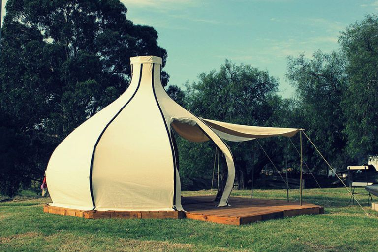 Would You Ditch Your Old Tent For This Unique Bamboo