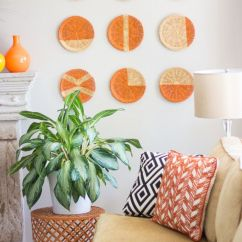 Diy Living Room Wall Decor Green Decorating Ideas Rooms Art Affordable Image Courtesy Of Design Improvised Basket