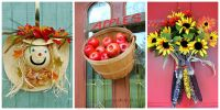 18 Fall Door Decorations - Ideas for Decorating Your Front ...