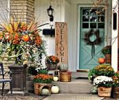 fall entryway decorating ideas