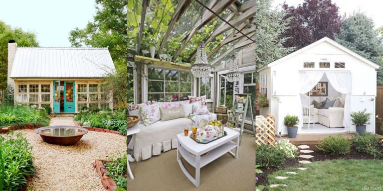 charming shed ideas