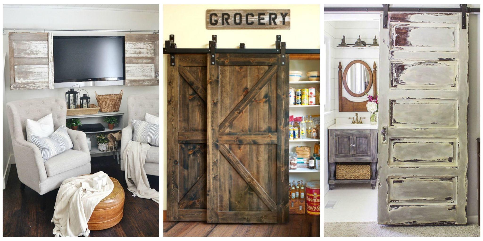 20+ Best Barn Door Ideas