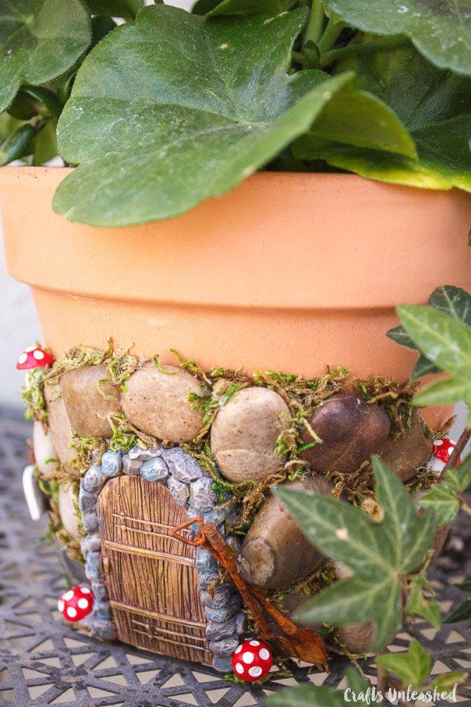 Fairy Garden Ideas: Magical DIY Fairy House Planter