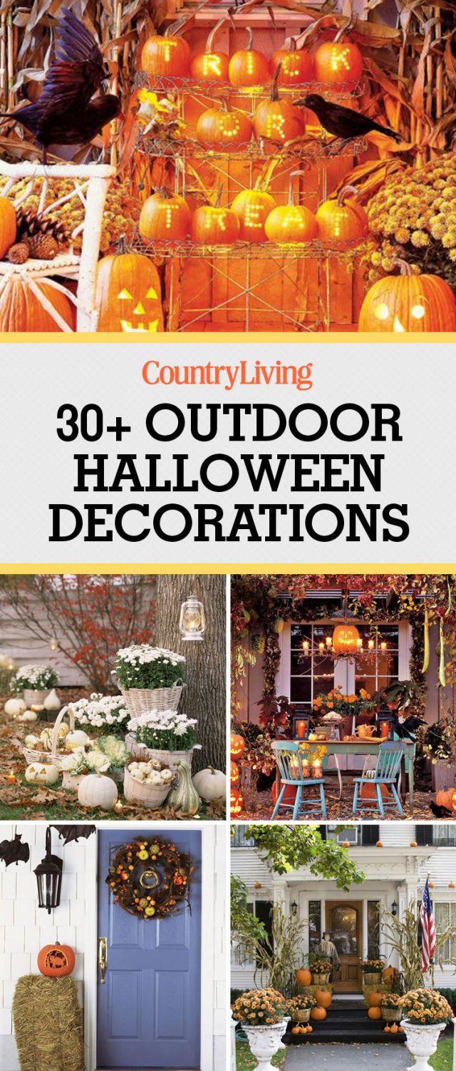 30+ Best Outdoor Halloween Decoration Ideas
