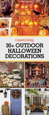 30+ Best Outdoor Halloween Decoration Ideas