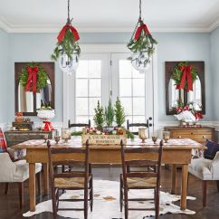 Dining Table In Living Room Pictures Rooms With Leather Furniture 43 Best Christmas Settings Decorations And Centerpiece Ideas For Your