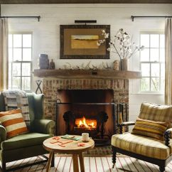 Decorate Small Living Room With Fireplace Rugs Uk 30 Cozy Rooms Furniture And Decor Ideas For