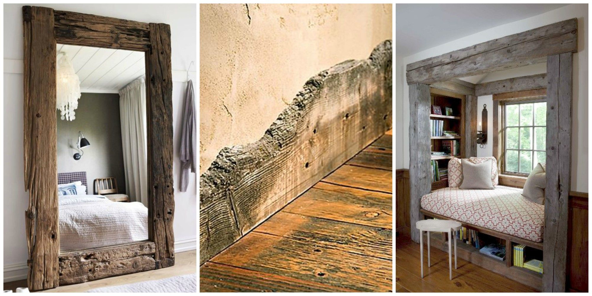 Reclaimed Wood Trim And Molding Reclaimed Wood Design And Decorating Ideas