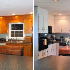 Kitchen Cabinet Makeovers Islands With Wheels 10 Diy Before After Photos That Prove A Little Tlc Goes Long Way