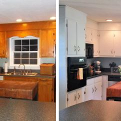 How To Redesign A Kitchen Flooring Ideas 10 Diy Cabinet Makeovers Before After Photos That Prove Image