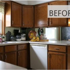 Diy Kitchen Cabinet Cabinets For 10 Makeovers Before After Photos That Prove And