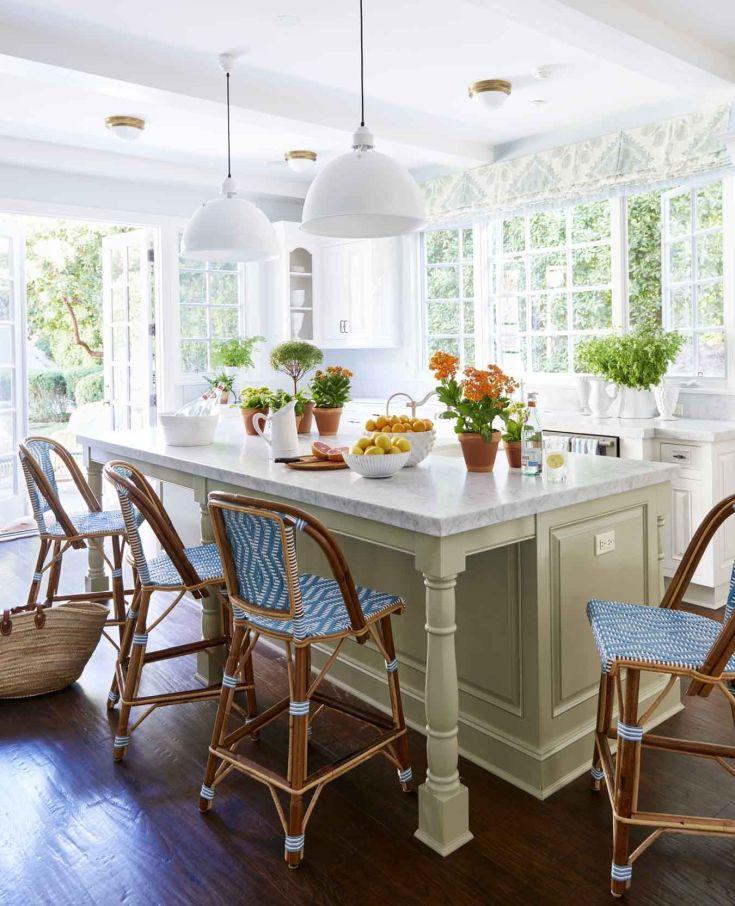 55+ best kitchen island ideas - stylish designs for kitchen islands