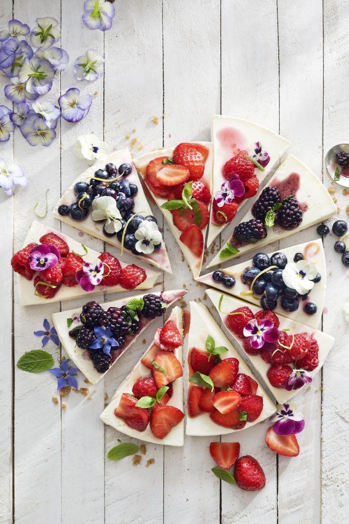 no bake cheesecake berry topping