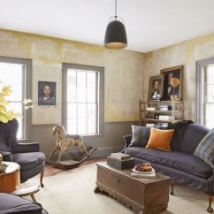 Living Room Color Schemes With Dark Furniture Ashley Rooms 23 Warm Paint Colors - Cozy