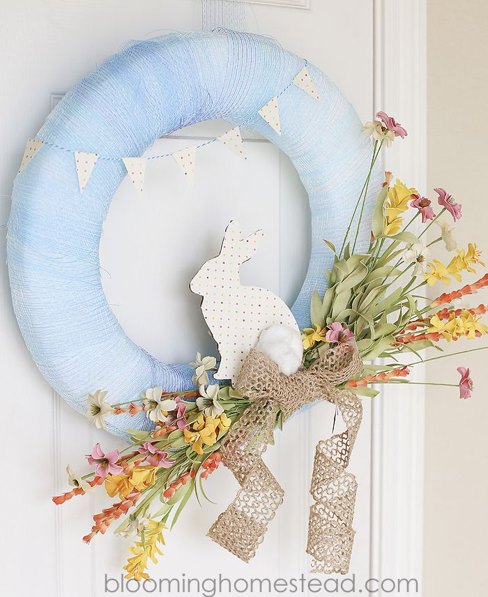 30 diy spring wreaths