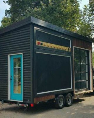 This Super Cool Tiny House Is Actually A Working Amp That