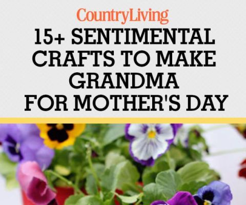 18 Best Mother S Day Gifts For Grandma Crafts You Can